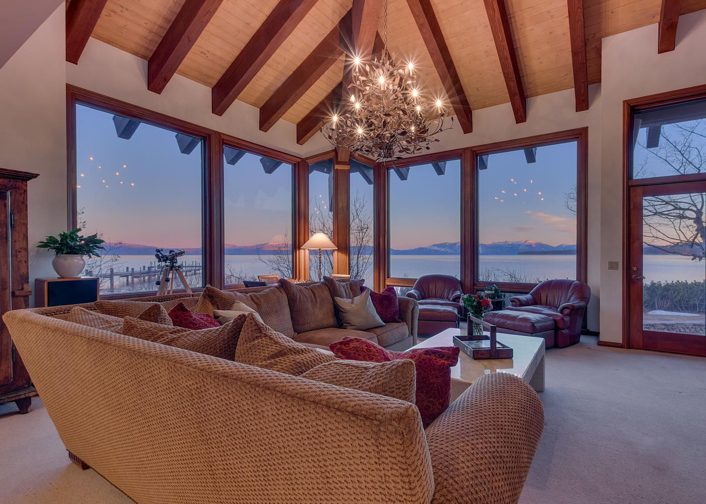 Lake Tahoe Estate In Godfather Ii Lists For 5 5m Curbed Sf