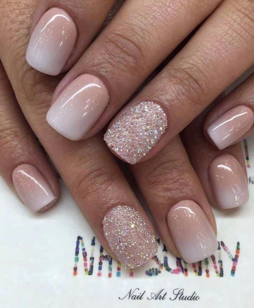 Natural Gel Nails Robust And Fine It S Possible Zlate Nehty Ombre Nehty Pekne Nehty